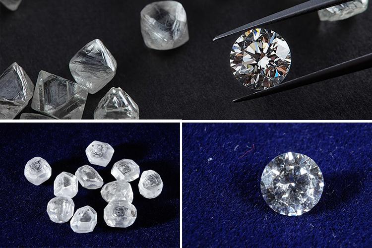 отличие синтетических бриллиантов от натуральных