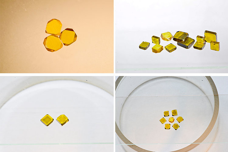 Синтетическая бриллиантовая пластина