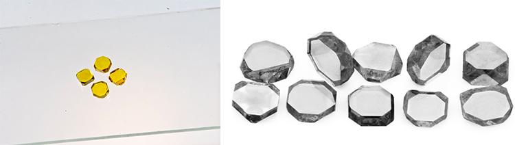 Синтетический монокристаллическая алмазная пластина