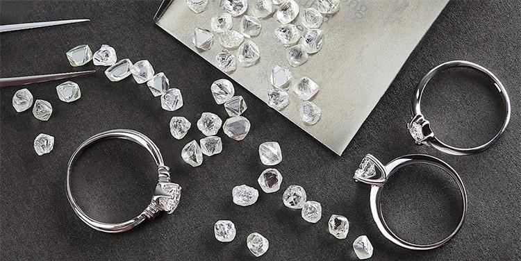 алмазное сырье цена
