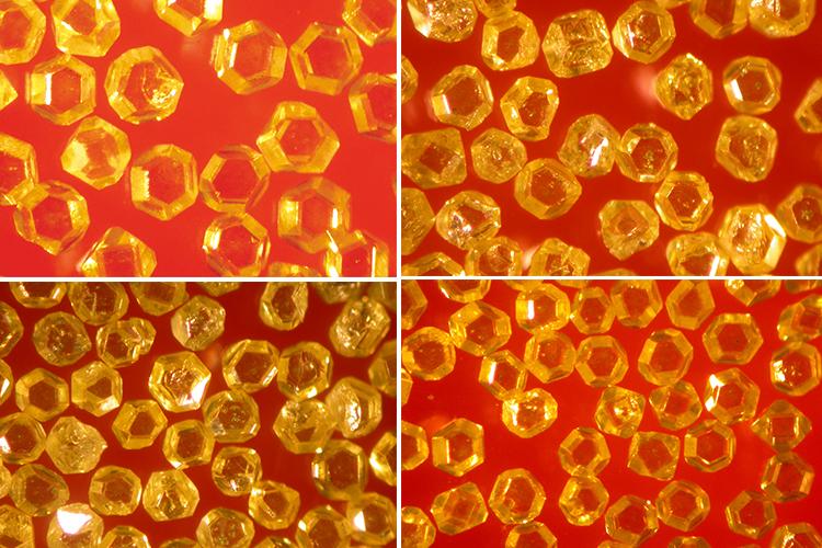 Большой синтетический монокристаллический алмаз