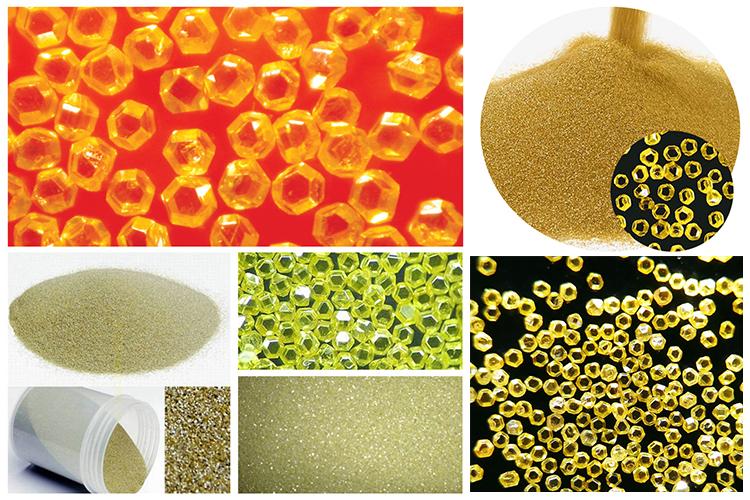 Синтетический монокристаллический алмазный порошок серия HSD