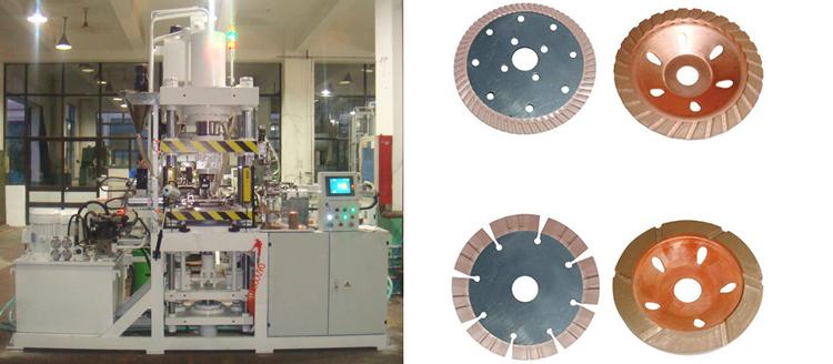 прессовые формовочные машины для пильного диска