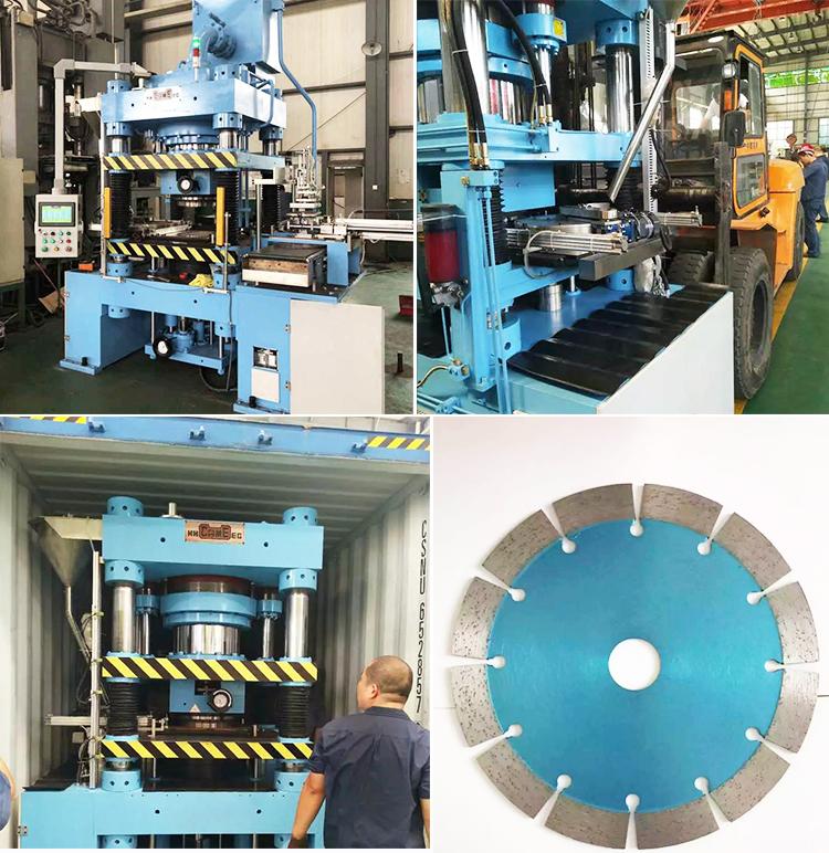Полностью автоматическая прессовая формовочная машина для пильных дисков