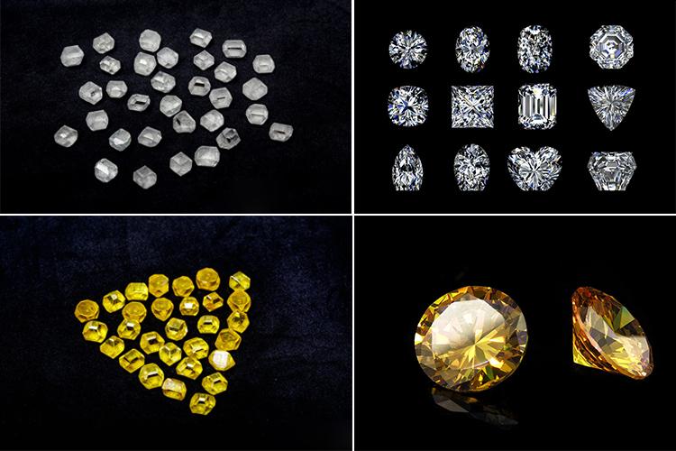 Лабораторные синтетические алмазы