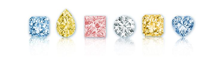 купить Фантазийные бриллианты