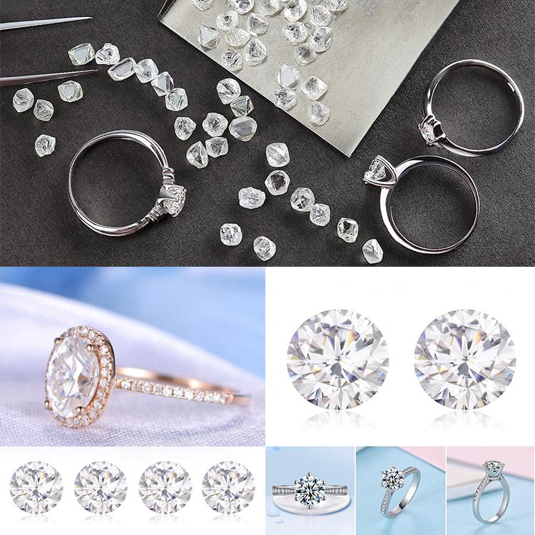 Ювелирные искусственные алмазы
