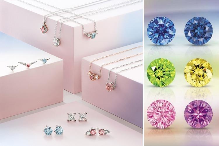 Цветные HPHT бриллианты