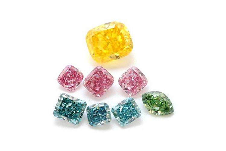 Желтый Бриллиант,Розовый Бриллиант синтетический,Голубой Бриллиант,Зеленый Бриллиант