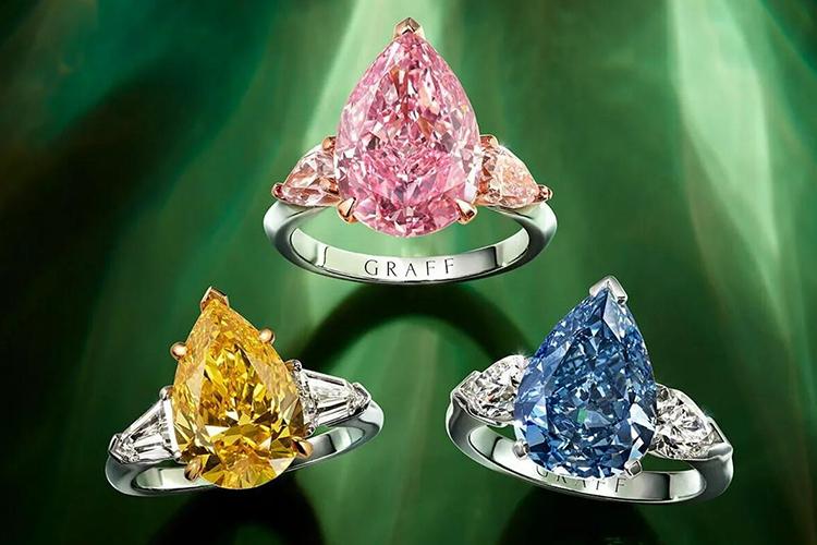 крупнейшие бриллианты цветные