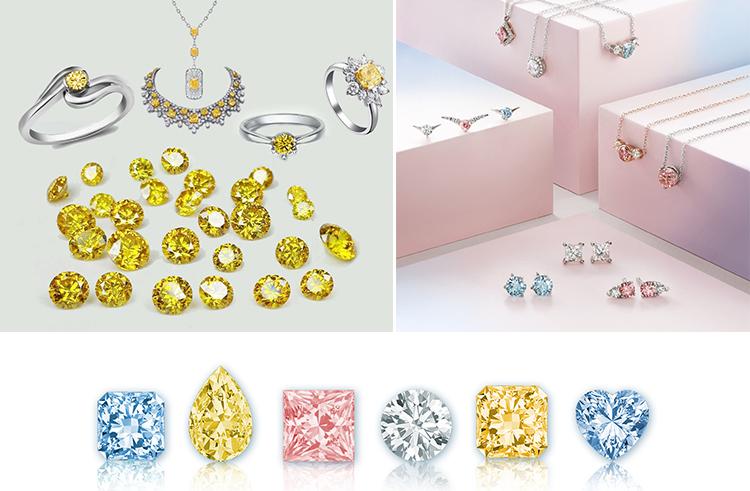 ювелирные синтетические бриллианты