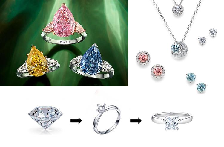 Крупные ювелирные бриллианты