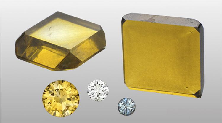 цветные CVD Синтетические алмазы