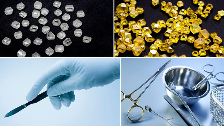 применение cvd алмазов в медицине