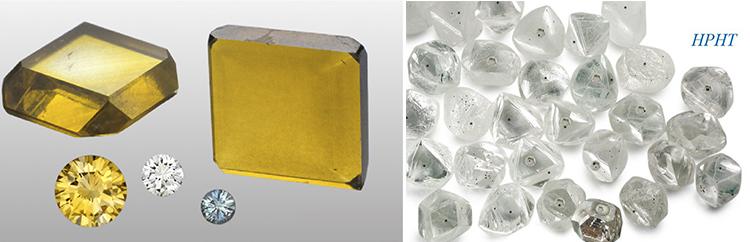Лабораторные алмазы синтетические HPHT