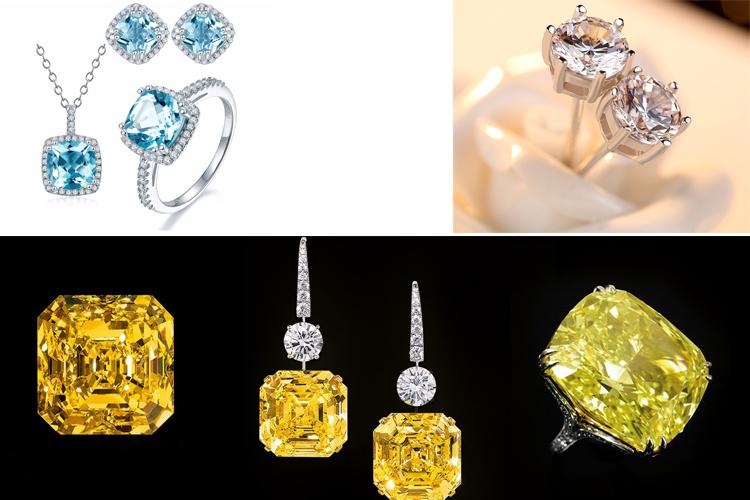 применение лабораторных алмазов в ювелирном деле