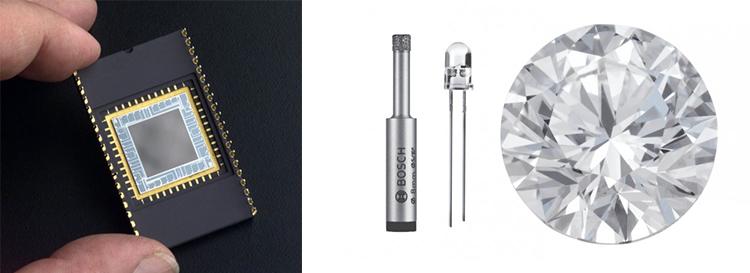 применение промышленных алмазов в ядерной промышленности