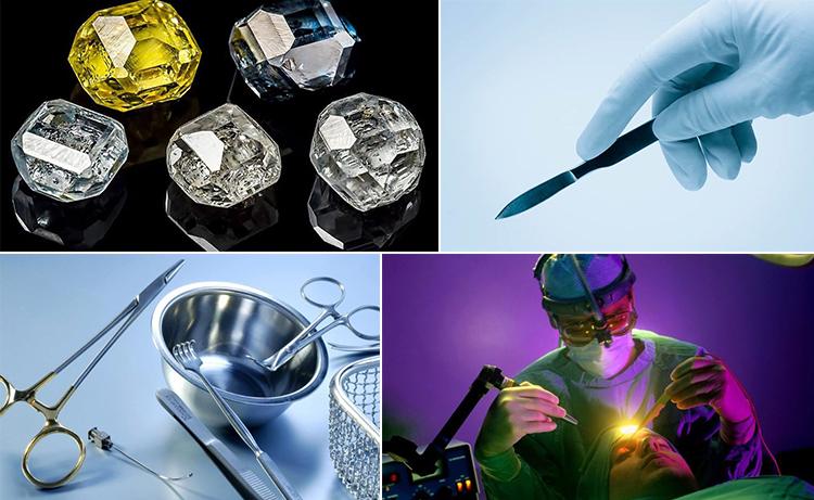 применение промышленных алмазов в медицине