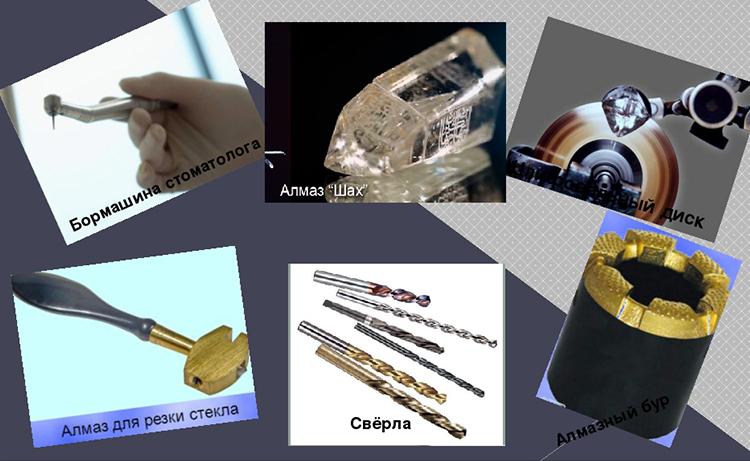 применение промышленных алмазов в строительстве