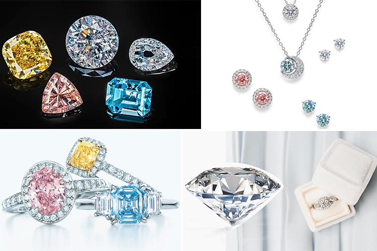 Фантазийные бриллианты  для украшений
